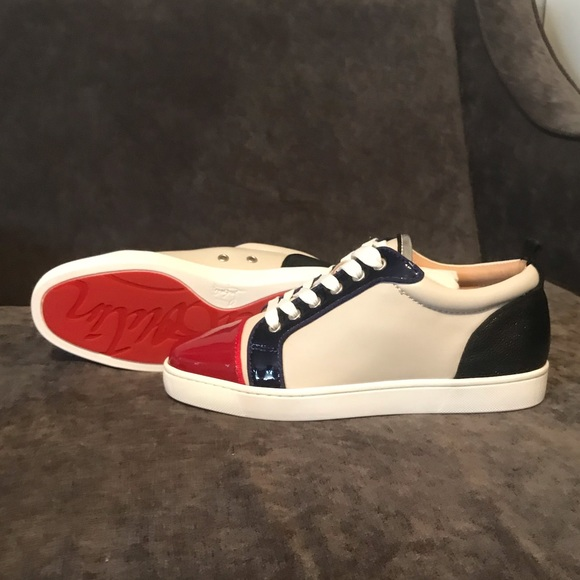 03440dd9a181 Christian Louboutin Louis Junior Flat Sneaker